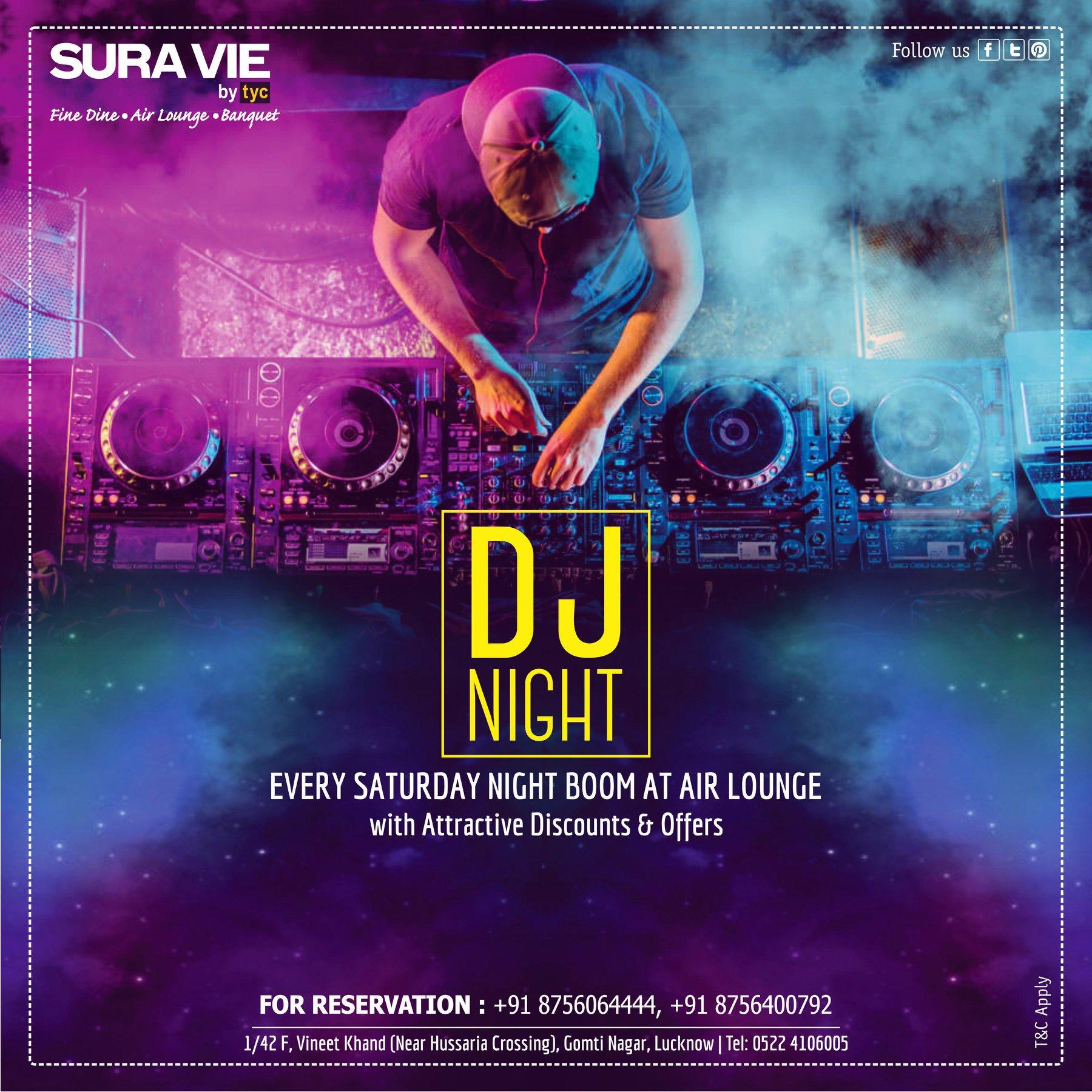Sura Vie DJ NIGHT